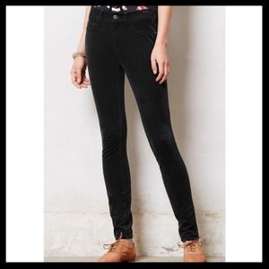 Anthro Pilcro Skinny Corduroy Pants